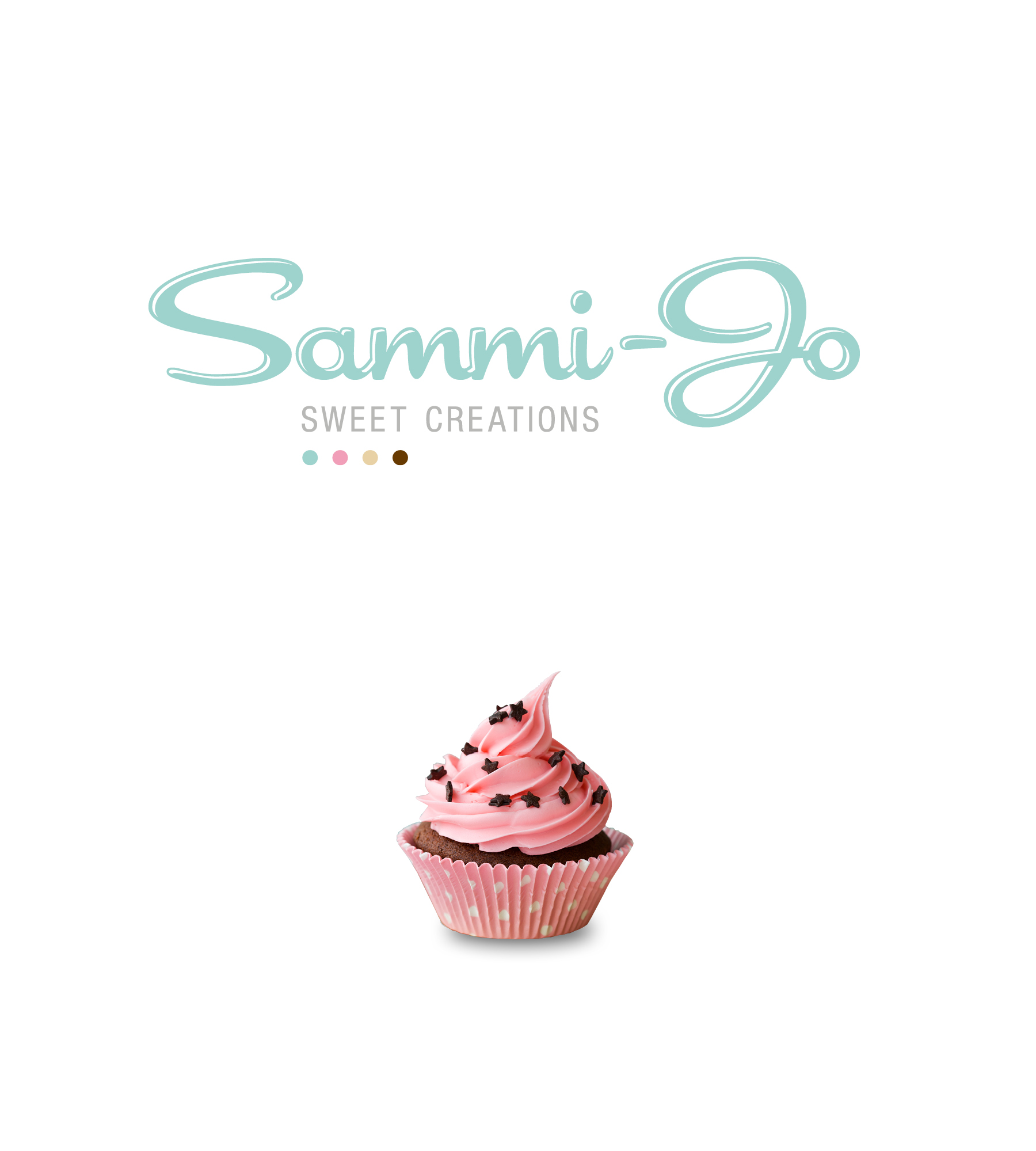 Sammi-Jo Sweet Creations - Creating a sweet sensation. Sammi-Jo is a boutique cake and dessert studio located in South Australia's Riverland. Chef and founder, Joanna came to us to cook up a fun brand as beautiful as her custom creations. Our integrated brand strategy included corporate collateral, signage, packaging design, online marketing and trade show materials. For Joanna, it's been a sweet success story!